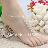 Anklet,Beach barefoot sandals,wedding barefoot sandals,beach foot jewelry     FCG130