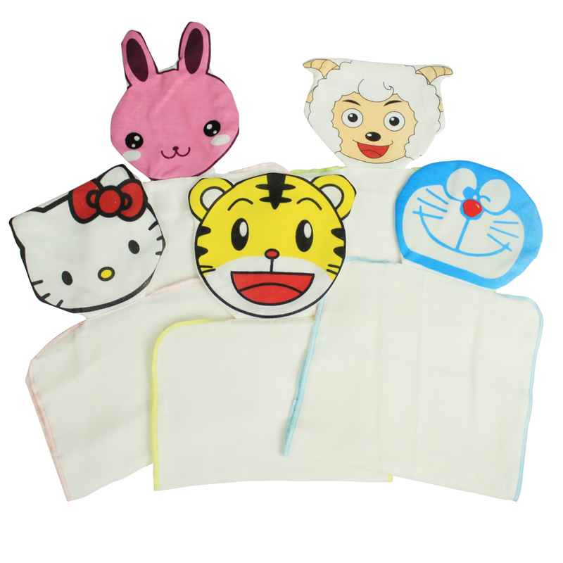 Child 6 100% cotton sweat absorbing towel child every baby hanjin gauze infant geheyan hanjin(China (Mainland))