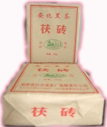 300g fu brick tea hunan black tea anhua black tea 50(China (Mainland))
