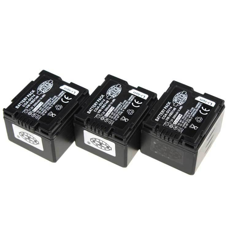 Digital boy 3Pcs 1400mAh CGA-DU14 DU14 Camera Battery For PANASONIC CGR-DU06 CGR-DU07 NV-GS10 GS100K GS17E PV-GS65 Free Shipping(China (Mainland))