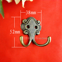 Fashion clothes hook rustic clothes hook door coat hooks