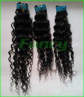 "12~28"" 4pcs/lot Top quality unprocessed hair Weave,100% human hair extension Brazilian curly virgin hair,DHL/Fedex free 400g"
