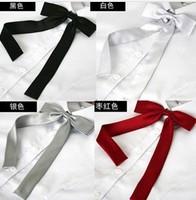 women girl lady silk tie clothing necktie bow tie  gravata butterfly new 2014 for  silk tie  women accessories 5pcs/lot 001