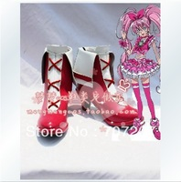 Wholesale/retail freeshipping hot sale Cheapest Cosplay Shoes & Boots We are Pretty Cure Cure Melody Christmas Halloween 1043