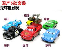 Domestic WARRIOR alloy car toy model 6 set Small