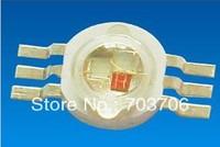 Free Shipping 50pcs High power 3W RGB led lamp TAIWAN chip