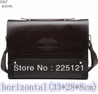 2013,New arrival business portable high quality PU leather men messenger bags/shoulder bag/man bag