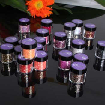 Lilyangel nail art glitter color toner glitter powder solvent glitter nail polish oil multicolour glitter 22