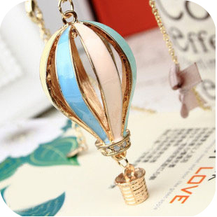 3296 accessories fashion dream colorful balloon hot home necklace female(China (Mainland))