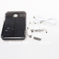 New 5000mAh Solar Panel Powered Back Up Battery USB Charger For Mobel Phone 750072