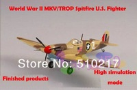 1/72 finished world war II piston propeller fighter model military aircraft model MKV/TROP Spitfire U.S. fighter