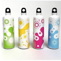 3448 cartoon small portable fan mini fan belt water bottle fan 60g