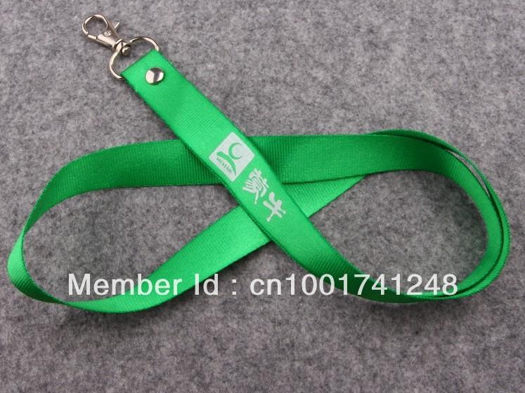 Wholesale custom logo print lanyards no mininum,business promotion ribbons neck strap for cellphone lanyards/MP3 50pcs/lot(China (Mainland))