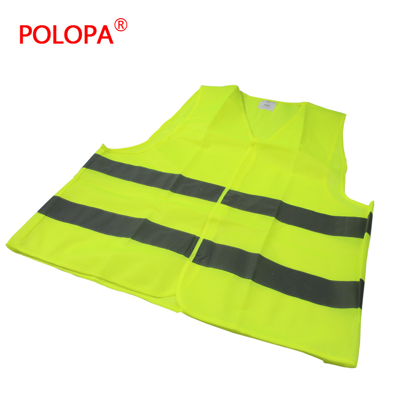 Polopa outdoor high visibility jacket vest safety clothes reflective clothing reflective warning clothing reflective clothing(China (Mainland))