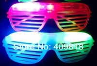 Shutters Shape LED Flash Glasses For Dances / Party Supplies Decoration