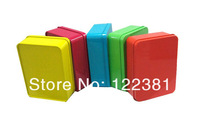 24 pcs 12cm*9cm Wedding Candy Chocolate Gifts More Color Tin Favor Boxed For Wedding Party Free Shipping