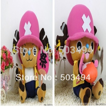 One piece joba Chopper plush toys Doll action figures toy 2 Styles 12 inches