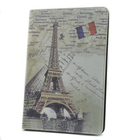 New PARIS Eiffel Tower Retro style PU Leather Case Cover with Stand for iPad Mini
