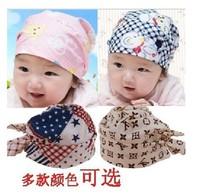 10pcs/lot Baby Solid hats Infant Hat Skull Cap Toddler Boys & Girls Pirate caps
