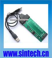 6+12pin mini SATA to 22pin SATA Adapter Converter card+USB SATA cable for Sandisk SASA5JK Asus UX31 UX21 ADATA XM11 xm11zzb5 SSD