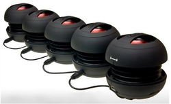X mini 2 hamburger speakers , X-mini II 018 Speaker Subwoofer , 5 colors Free shipping(China (Mainland))