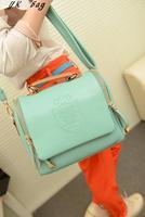 2013 fashion  women's handbag small fresh vivi sweet candy color   messenger bag  free shipping