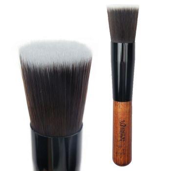 6090 cosmetic brush bevatrons flat head foundation brush makeup tools