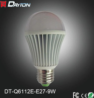 e27 9w led bulb light B22/e26 new design high quality hot sale