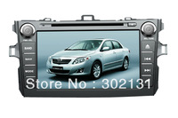 free shipping ARM11 toyota corolla car GPS DVD player