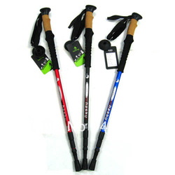 Free shipping!New Trekking Pole - Alpenstock Walking Stick trekking poles hiking stick(China (Mainland))