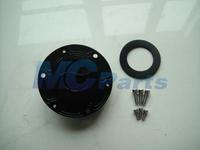 Free Shipping CNC Keyless Fuel Gas Tank Cap For Aprilia RS125/RS250 RSV1000 Mille Shiver 750 Black