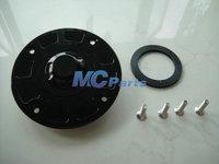 Free Shipping CNC Keyless Fuel Gas Tank Cap For Suzuki GSXR 1000 01-02 k1 SV650 99-02 Black