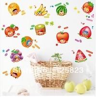 Creative, cartoon vegetables, lovely fruit stickers
