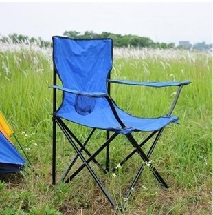 Portable folding chair armrest outdoor portable fishing chair folding stool outdoor chair beach chair fishing stool(China (Mainland))