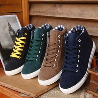 High quity New Candy color fashion 2013 men Canvas shoes man's shoes Spring / Autumn sneakers Outdoor boots px5511