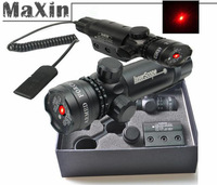 new Arrivals red dot laser/sight outside adjust 2 switch rail mount set fit f rifle gun scope free shipping