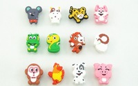 Environmentally friendly non-toxic soft plastic cartoon collision children room cupboard door drawer handle Chinese zodiac