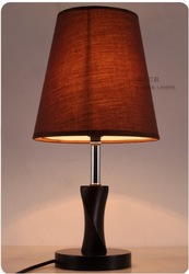 Light Culture wooden lamp pine table lamp bedroom lamp living room lights Free Shipping M01(China (Mainland))