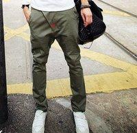 Hot sell.      feet design low-grade  men's pants constant quality trousers Size M/L/XL/XXL.wholesale
