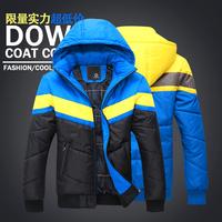 Hot sell.  keep warm  leisure wadded thickening -padded jacket  male -padded coat .wholesale