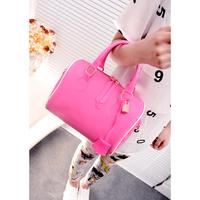 213 fashion handbag  jelly bag beach bag candy color  crystal one shoulder cross-body female  free shipping