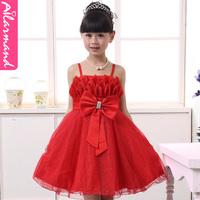 Promotion Free Shipping Girls dress child wedding princess flower girl puff  high quality  y1851