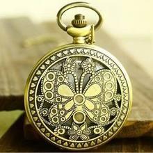 popular butterfly pocket watch