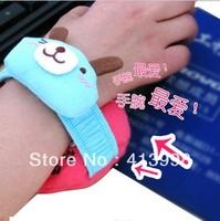 2013 new products plush wrist pad cute cartoon plush toys soft wrist pad computer accessories