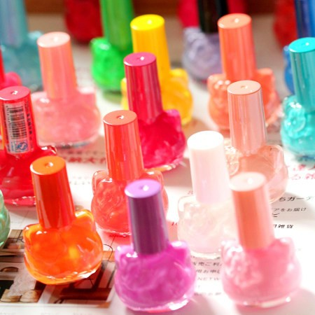 Nail art kolkatan &#39;s kt cat candy color nail polish oil bottle size full color(China (Mainland))