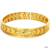 Mens women wedding Fashion accessories 18k gold jewelry bride exquisite women's hand chain bracelet bangle ks334