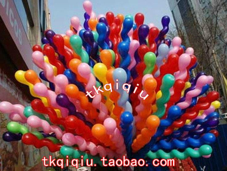 Big ball screw spiral ball twisted balloon big balloon(China (Mainland))