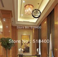Noble new Crystal Modern Ceiling Light  Dining Hall Light Bedroom Light Hall Light Restaurant Chamdelier Lamp dia250*20OEM