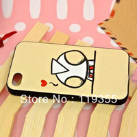 Lover/Couple's Cute Lovely Kind Hard Back Case Cover for iPhone 4 4G 4S JS03227 drop shipping