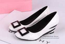 Free Shipping New Fasion 2013 Sexy Women Wedges Genuine Leather Zebra Print Heel Comfort Lady Shoes(China (Mainland))